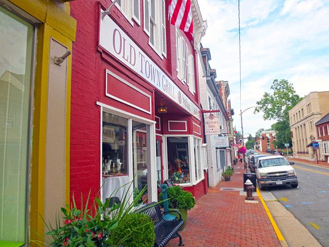 Old Tavern Leesburg